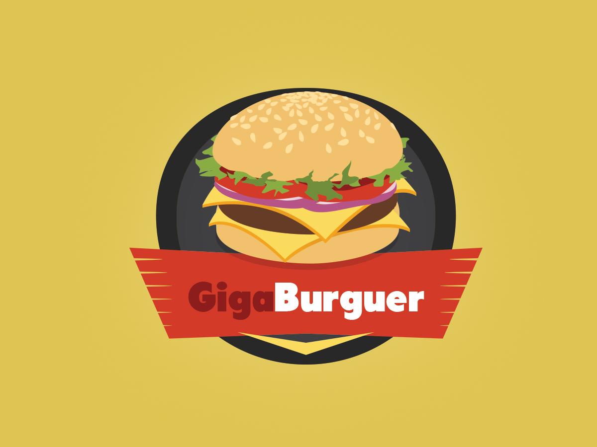 Giga Burguer Logo