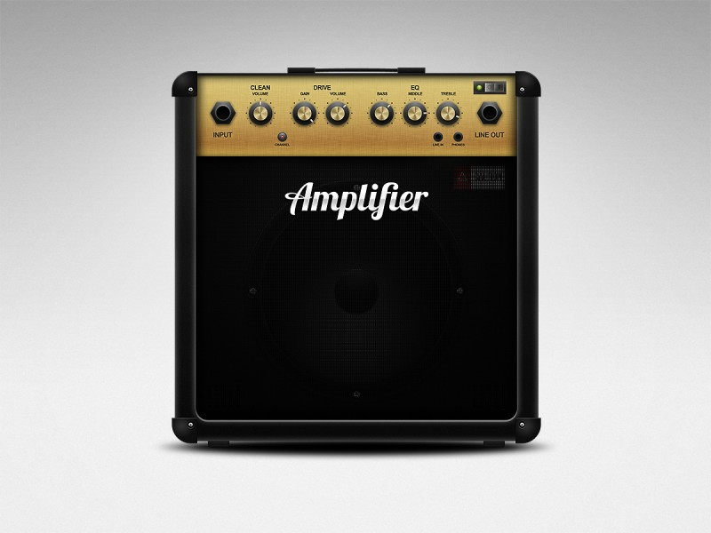 Guitar Amplifier Icon