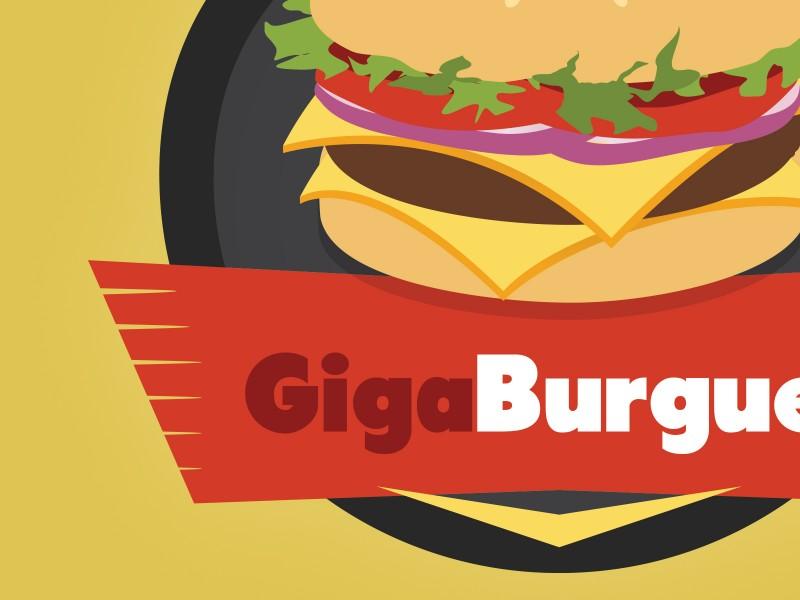 Giga Burguer Branding