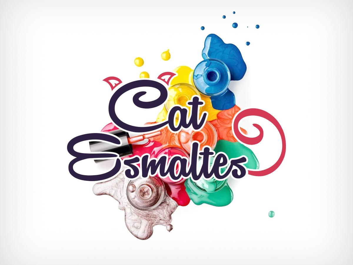 Cat Esmaltes - Logo
