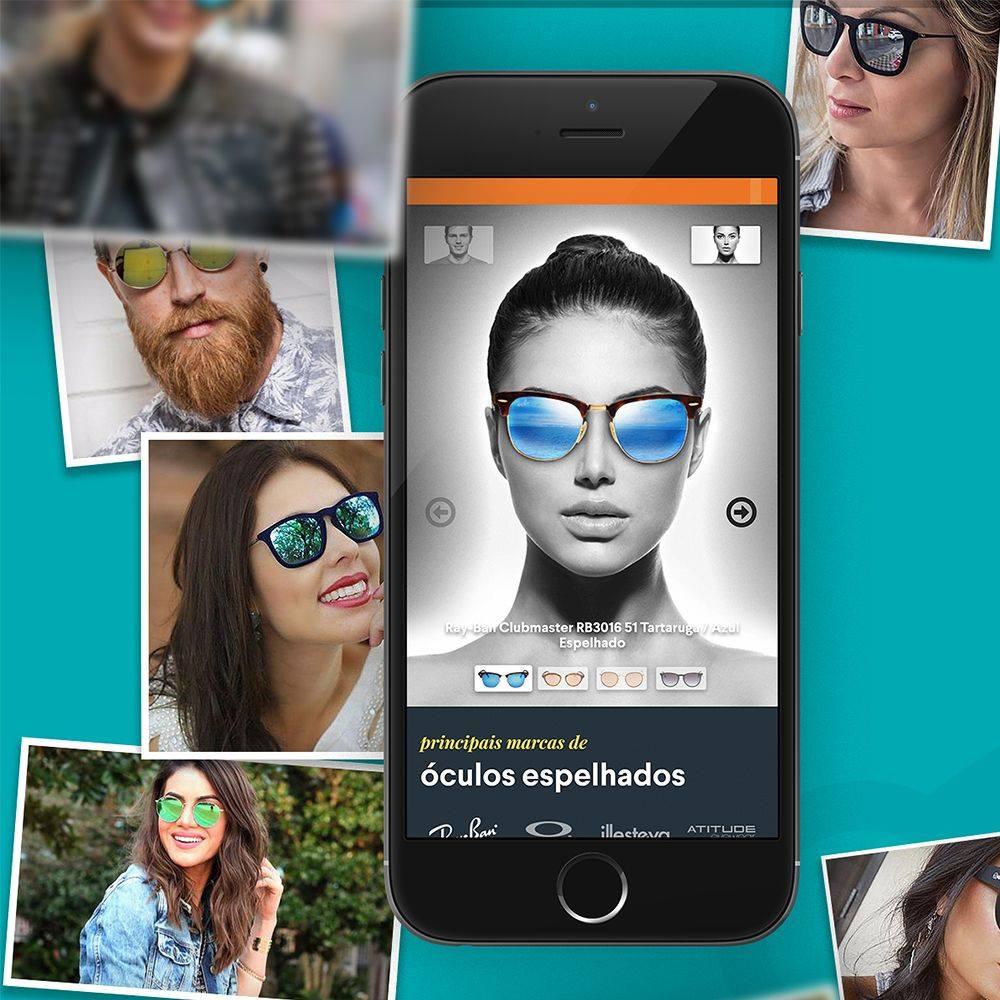 Landing Page sobre óculos espelhados – QÓculos.com