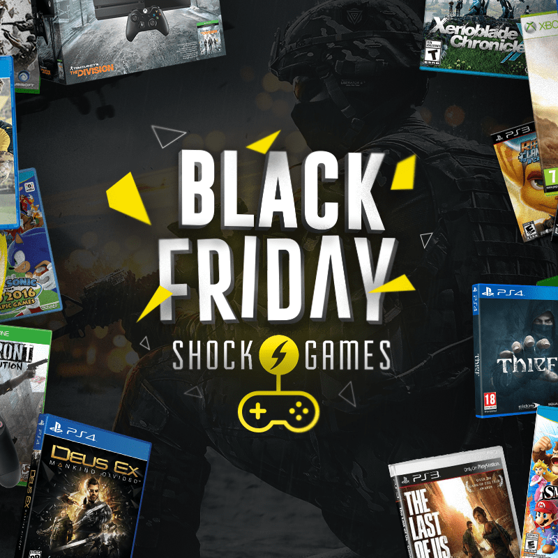 Ação Integrada de Black Friday ShockGames